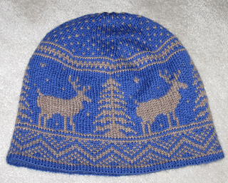 Ravelry  Frolicking Deer Hat pattern by Kat Mcab 40132965807