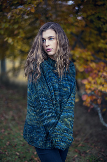 Ravelry: Mystery Green Sweater pattern by Katrine Hammer
