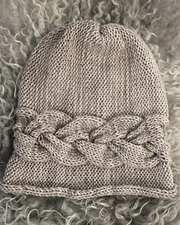 Beginner Baby Knitting Patterns : Ravelry: Sideways Braid Beanie pattern by Katrine Hammer