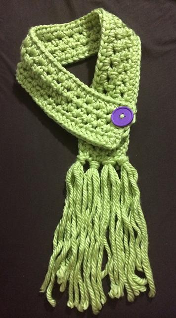Ravelry Chunky Half Double Crochet Scarf Pattern By Katy Bradley