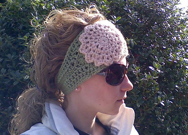 Ravelry: Boho Crochet Headwrap pattern by 4T Designs