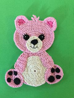 Ravelry Teddy Bear Appliqué Pattern By Kerri Brown
