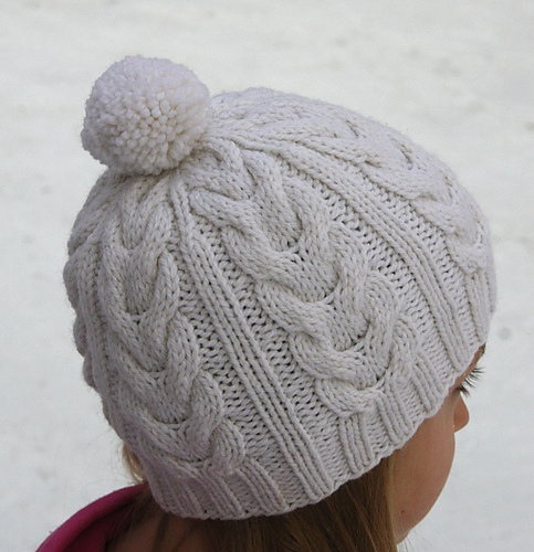 Ravelry Cable Staghorn Whalebone Hat Beanie Toque Pattern By