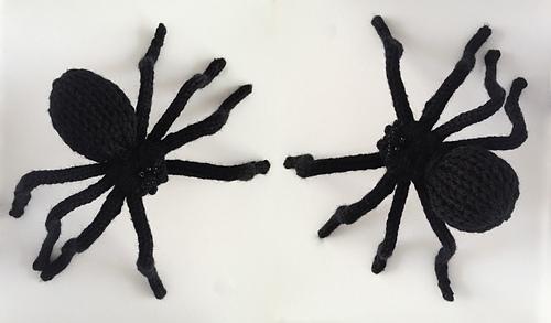 Ravelry Scary Knit Spiders Pattern By Grace Breyley