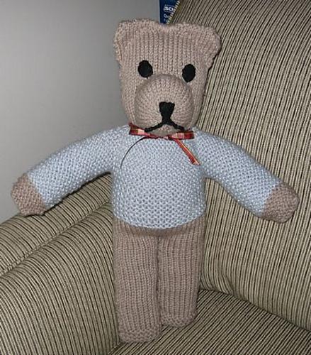 Ravelry Cuddle Bear A Free Knitted Teddy Bear Pattern Pattern By