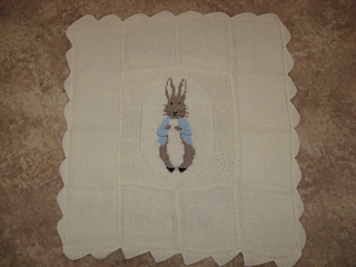 Peter Rabbit Cot Cover