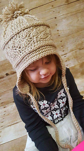 Ravelry La Vie En Rose Earflap Hat Pattern By Kirsten Holloway
