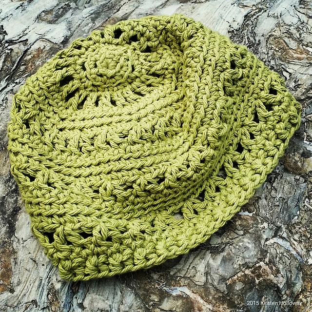 patterns   Kirsten Holloway Designs.   Textured V-Stitch Hat 3df521d078f