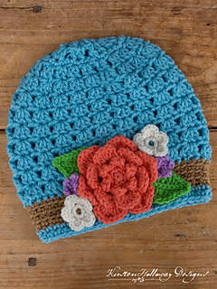 d5cf27c29 Bouquet Ladies Slouch Hat pattern by Kirsten Holloway