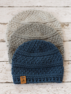 66c2cfee683 Ravelry  Simple Seed Stitch Beanie pattern by Kirsten Holloway
