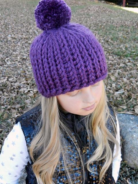 Ravelry Chunky Pom Pom Hat Pattern By Kismet Crochet