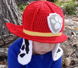 ravelry paw patrol marshall hat pattern by kismet crochet rh ravelry com PAW  Patrol Crochet Hat Pattern Doc McStuffins Crochet Hat Pattern Free 1aa2315e3de