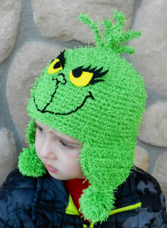 e67aabed247 Ravelry  Grinch Inspired Hat pattern by Kismet Crochet