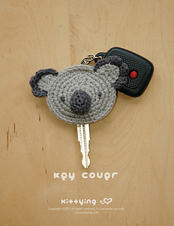 Ravelry  Koala Key Cover pattern by Kittying Ying 1513fd2d3448