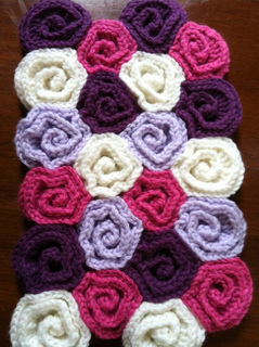 Free Crochet Pattern Rose Field : Ravelry: Rose Field Baby Blanket pattern by Tanya Shliazhko