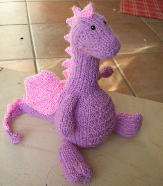 Ravelry Tarragon The Gentle Dragon Pattern By Knit A Zoo