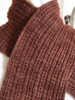 Ravelry Simply Ribbed Scarf Pattern By Grace Mcewen