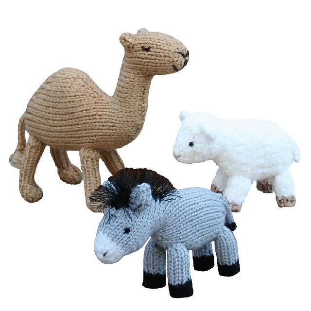 Ravelry Christmas Nativity Animals Pattern By Sarah Gasson