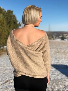 Ravelry Crossback Sweater Pattern By Knitatude Chantal Miyagishima