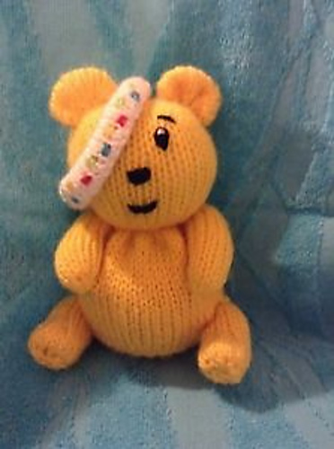 Ravelry Children In Need Pudsey Choc Orange Cover Toy Pattern By