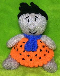 Ravelry Fred Flintstone Choc Orange Cover Toy Pattern