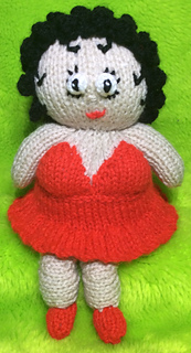 Ravelry Betty Boop Choc Orange Cover Toy Pattern By
