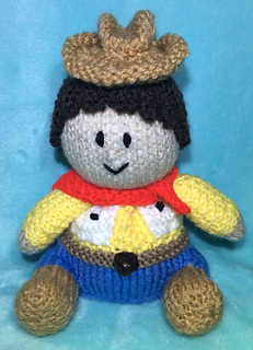 Knitting Pattern Toy Story Characters : Ravelry: Toy Story Woody Choc Orange Cover / Cowboy Toy pattern by Mary Lucas