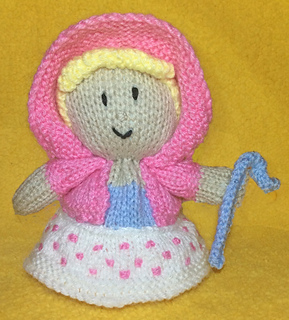 Knitting Pattern Toy Story Characters : Ravelry: Little Bo Peep Choc Orange Cover / Toy Story Toy pattern by Mary Lucas