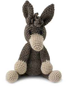 Angharad the Donkey pattern by Kerry Lord