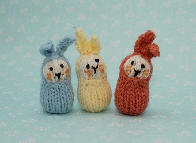 Ravelry Bean Bunnies Pattern By Sachiyo Ishii