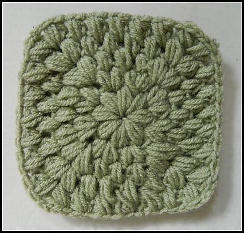 Ravelry Puff Stitch Granny Square Video Pattern By Heather Gibbs