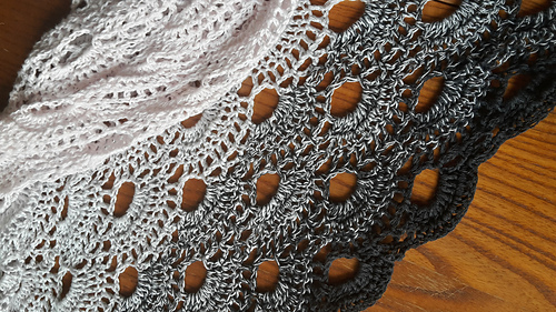 Ravelry Virus Shawl Virustuch Pattern By Julia Marquardt