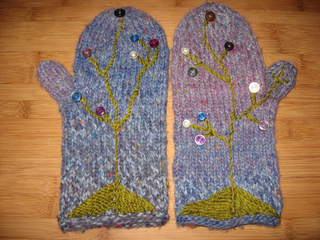 Knitting Patterns For Popsicle Wool : Ravelry: Popsicle Mittens pattern by Cosette Cornelius-Bates