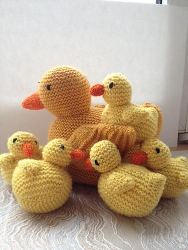 Ravelry Five Little Ducks Pattern By Sarah Keen