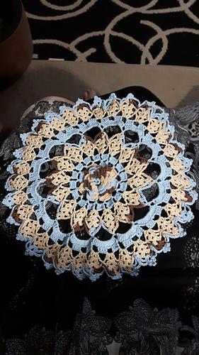 Ravelry Rhapsody Rose Doily Pattern By Elizabeth Ann White