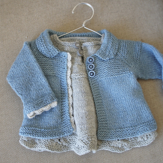 e876c88eb Ravelry: Charlee Baby Girl Jacket/Coat pattern by Lotta Arnlund