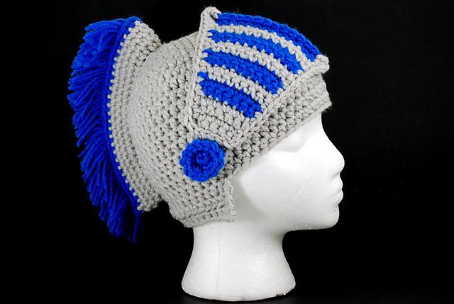 Ravelry Trojan Helmet Pattern By Kreations By Karlee