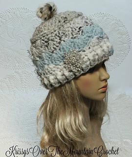 Ravelry  Cambridge Shells Hat pattern by Kris Moore 6e6023fa9d37