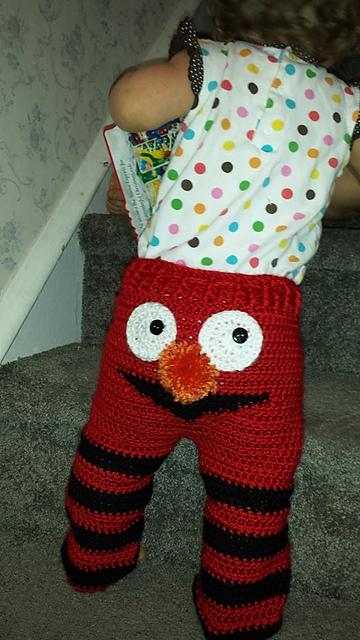 Ravelry Elmo Monster Pants Pattern By Kristen Kurtz