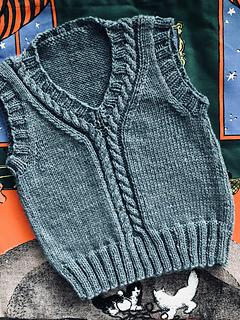 Ravelry: Bamboo Baby Vest pattern by Stitch Studio Design Team