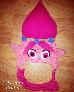Ravelry  Poppy troll hat pattern by Tawnya Myers 19af100db0f