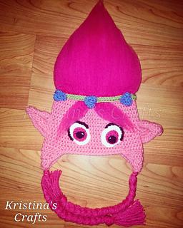 Ravelry  Poppy troll hat pattern by Tawnya Myers 69b8d665685