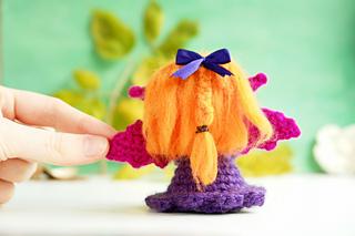 Halloween Amigurumi Crochet Pattern : Ravelry: halloween amigurumi doll: the cute vampire girl pattern by