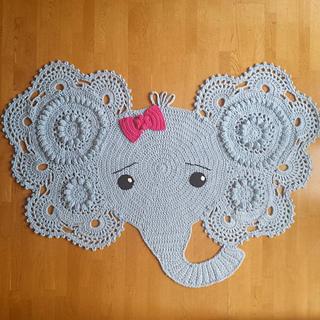 Ideal Ravelry: LBK63's Makenzie's Elephant Rug AD23