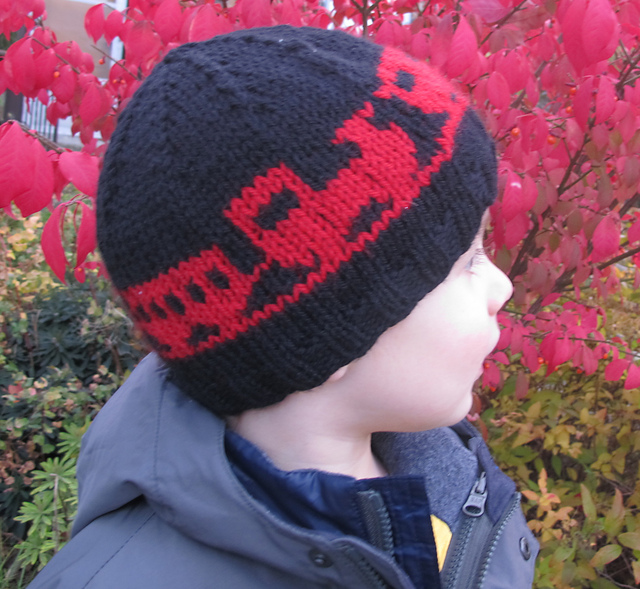 Ravelry Choo Choo Toque Pattern By L Gordon Norman