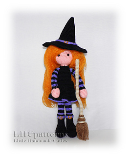 c3be5ae69c Ravelry  Witch with Broom Halloween pattern by Kristine Kuluka