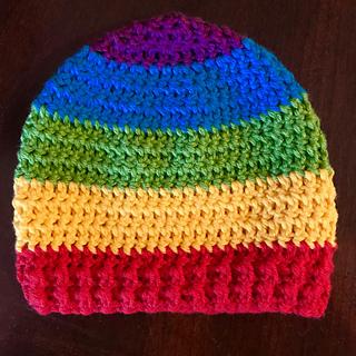 Ravelry  Newborn Rainbow Baby Hat pattern by Allison Savoy 868c98fec053