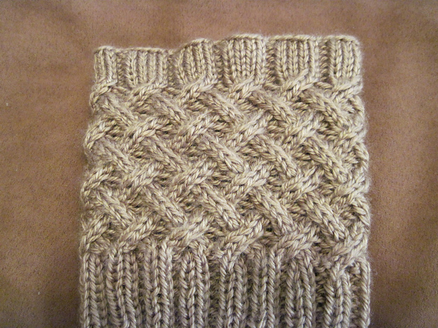 Ravelry Cabled Boot Topper Pattern By Anna Templer