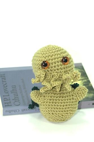 Ravelry Tiny Cthulhu Pattern By Amber Of Cthulhu Crochet