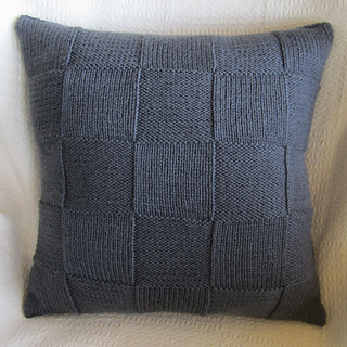 Ravelry Simple Squares 20 Quot X20 Quot Pillow Cover Pattern By